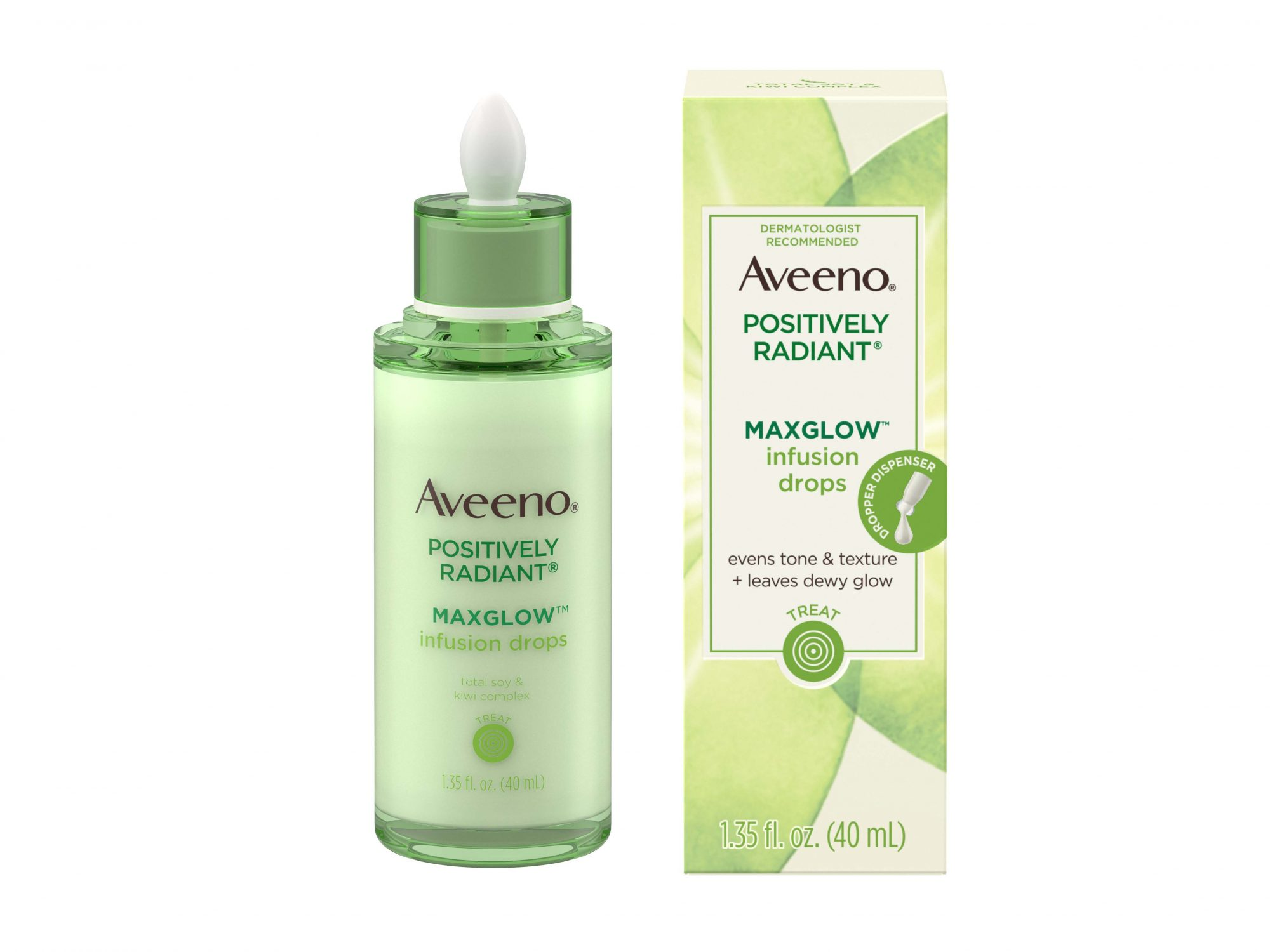 Aveeno Positively Radiant MaxGlow Infusion Drops Serum