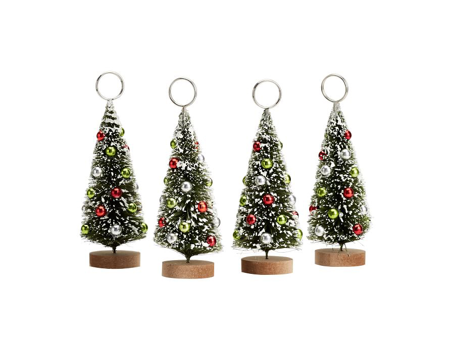 Christmas Tree Place Cards Holders