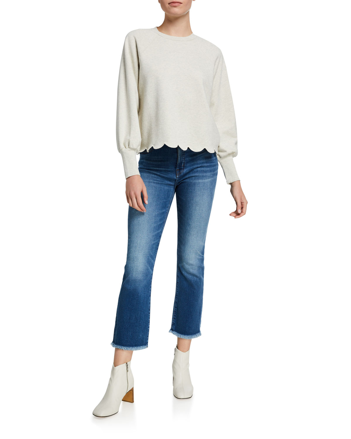 Cropped Jeans, Now