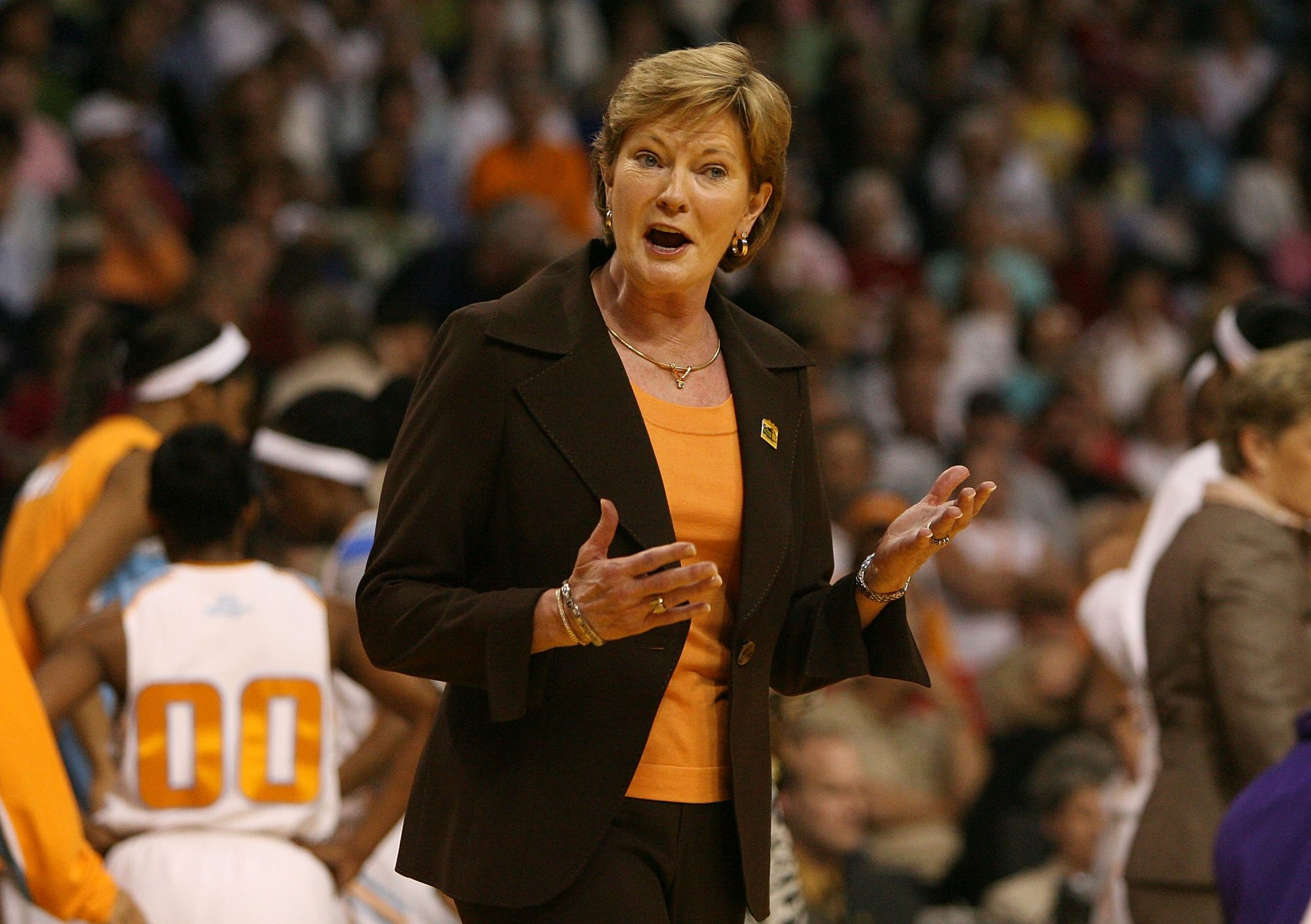 Pat Summitt at 2008 Women's Final Four
