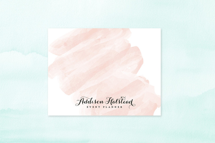 Watercolor Business Stationery