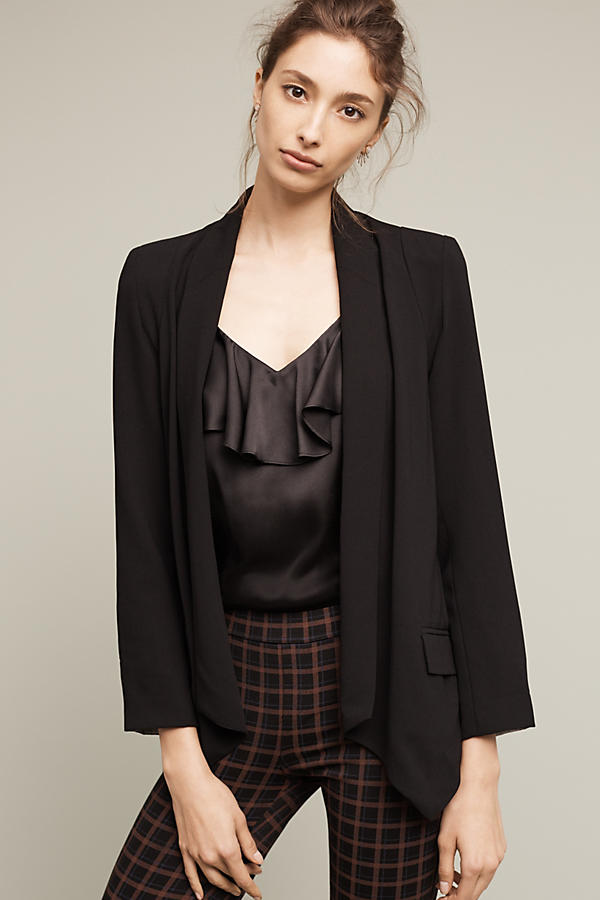 Oversized Blazers with Shoulder Pads, Now