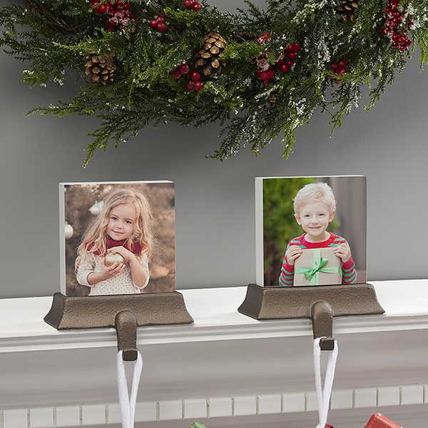 Personalized Photo Stocking Holder
