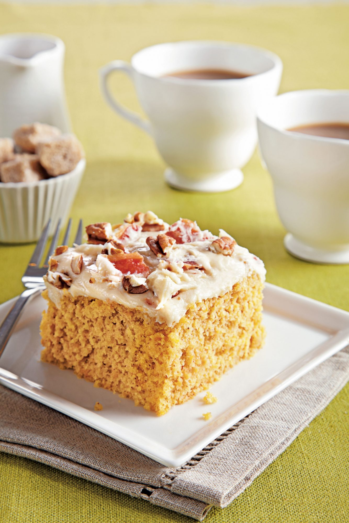 Sweet Potato Sheet Cake
