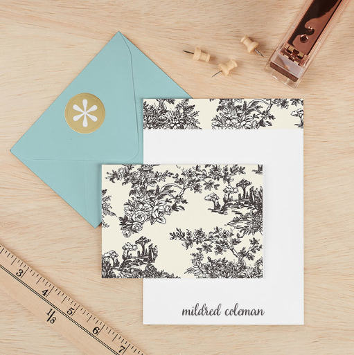 Toile Y'all Stationery