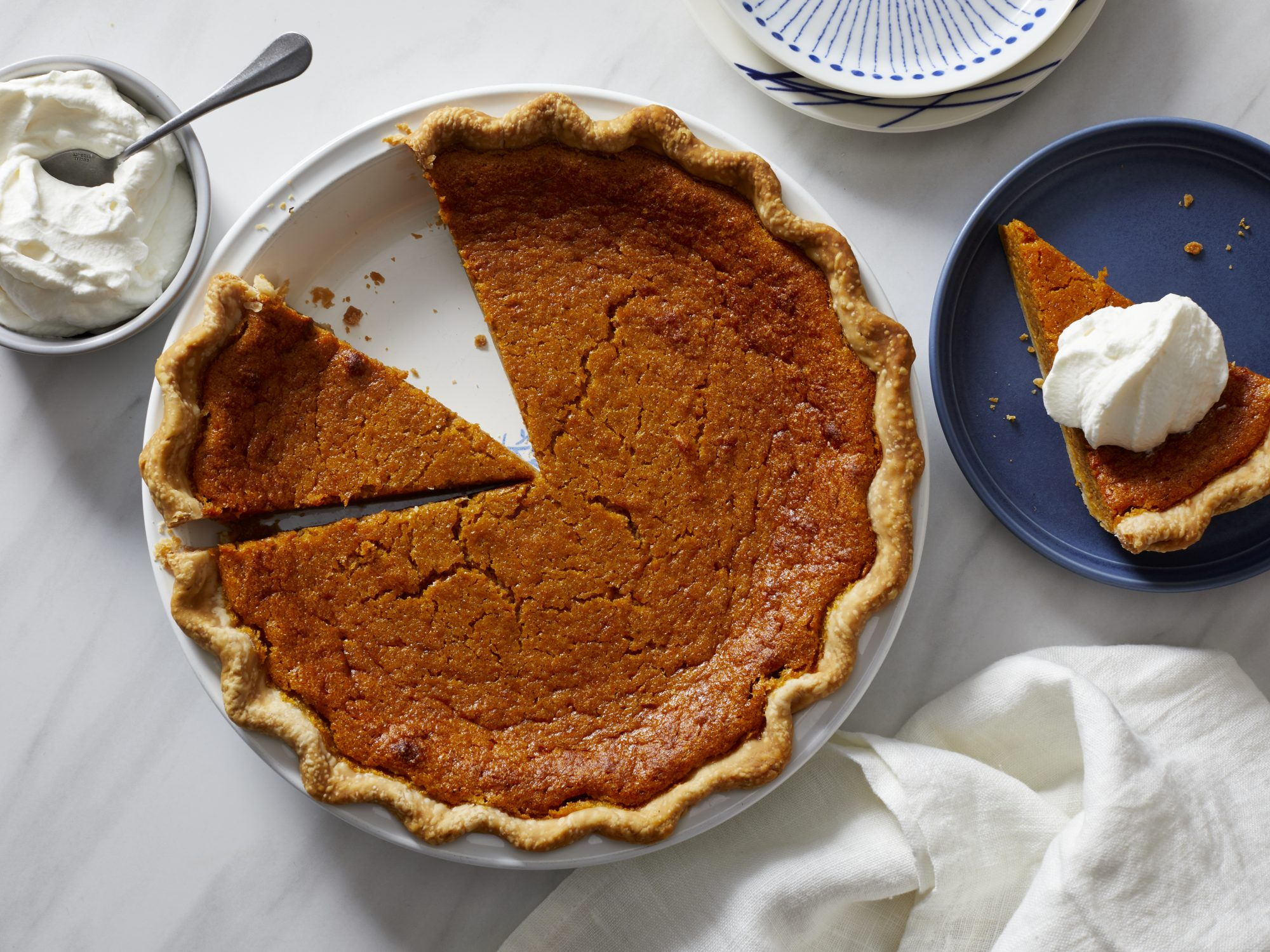 Virginia Pumpkin Pie Southern Living
