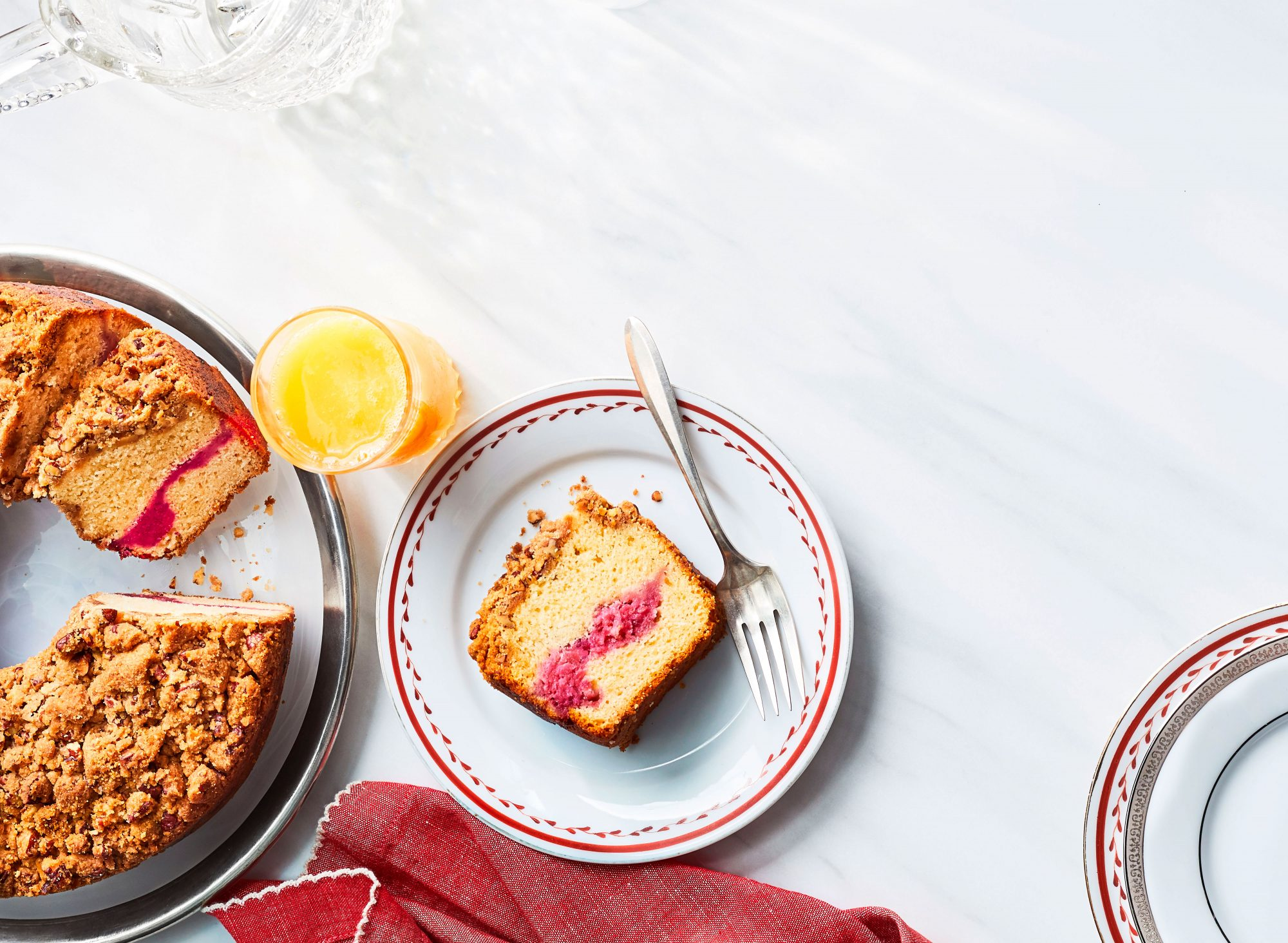 Cranberry-Pecan Coffee Cake