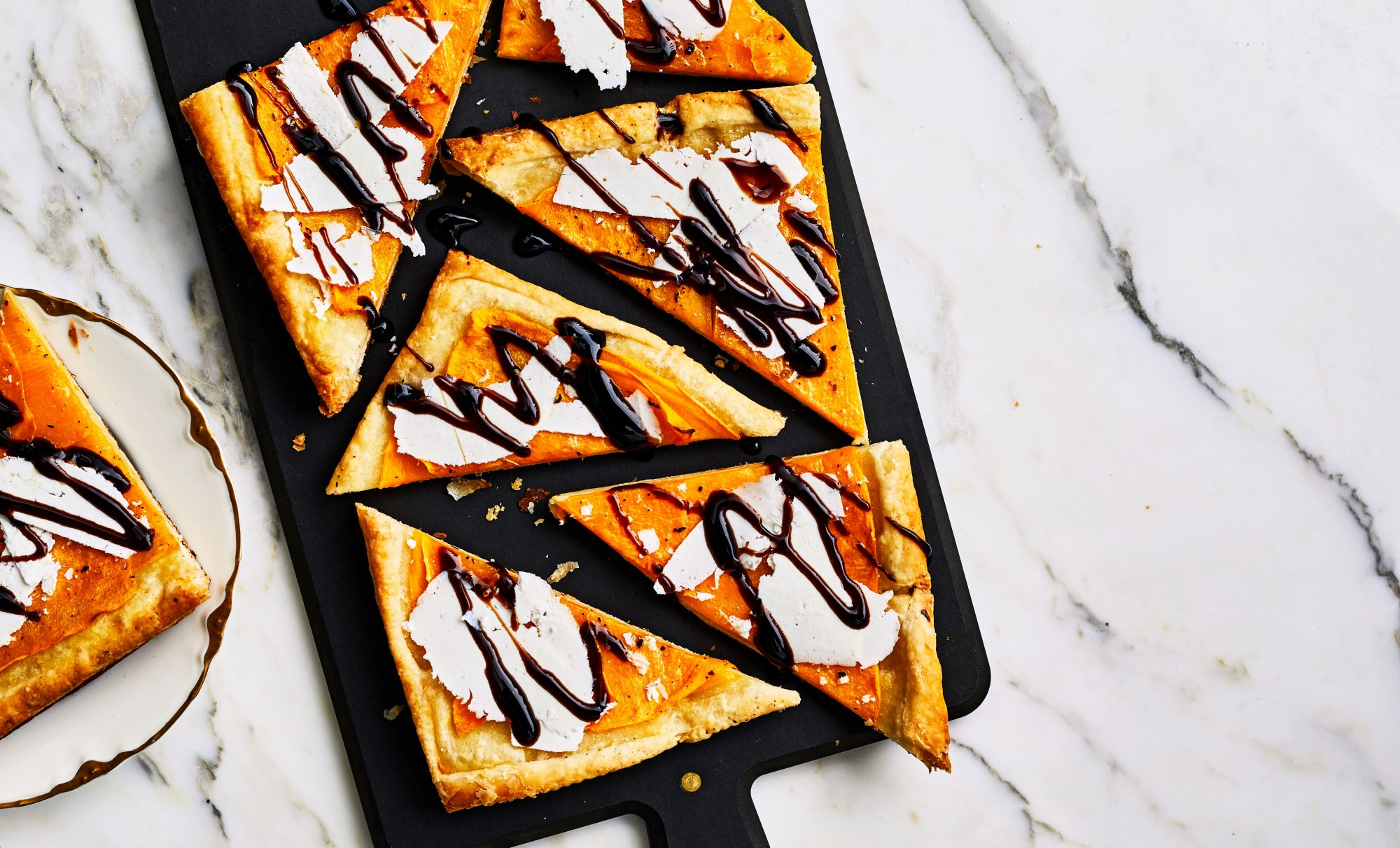 Butternut Squash Triangles