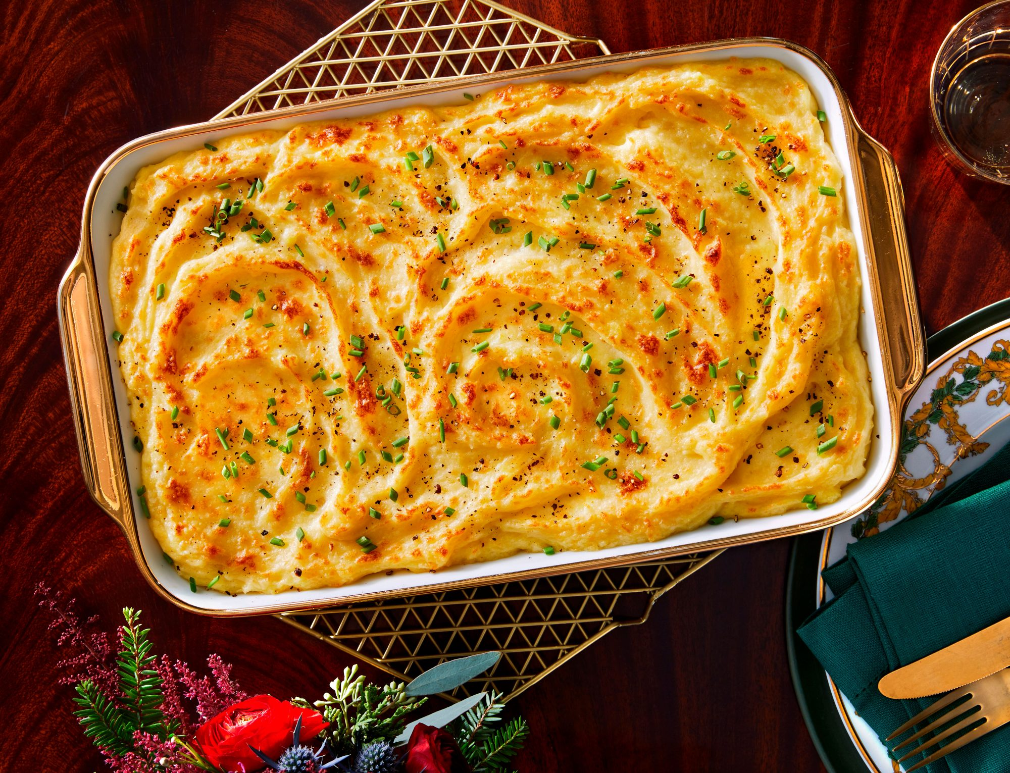 Creamy Whipped Potato Casserole