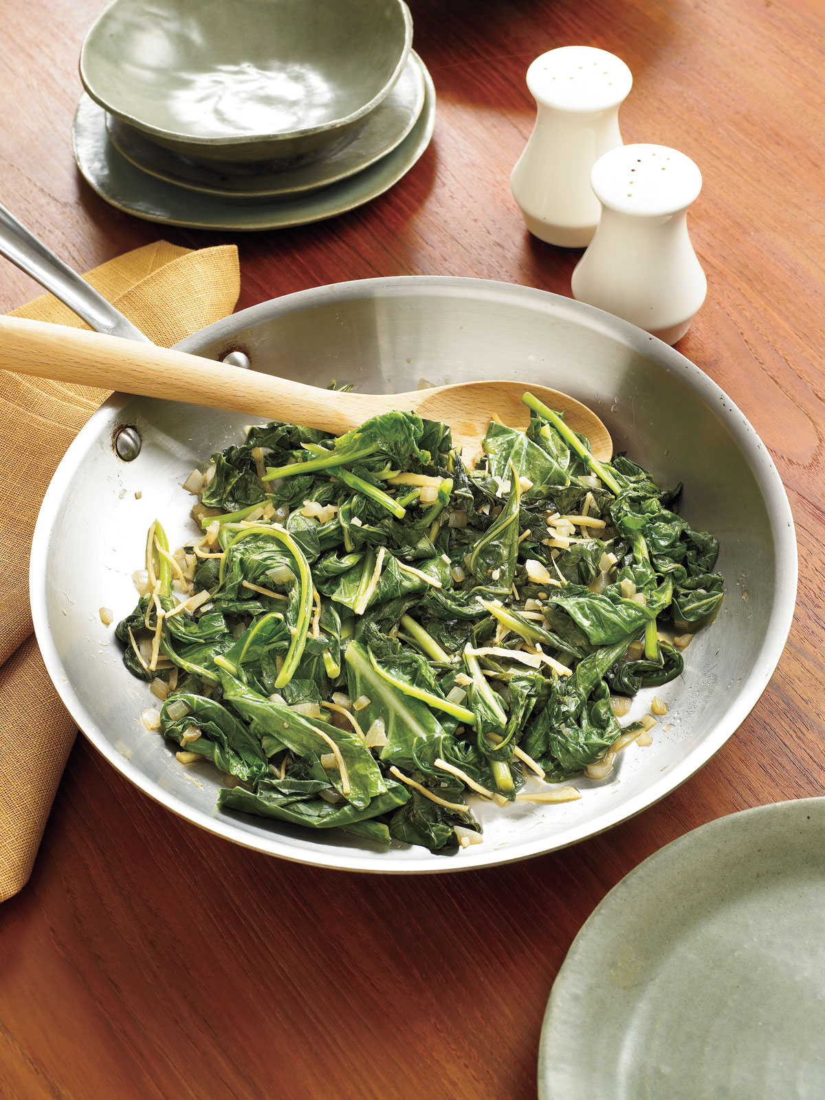 Sautéed Collard Greens Southern Living