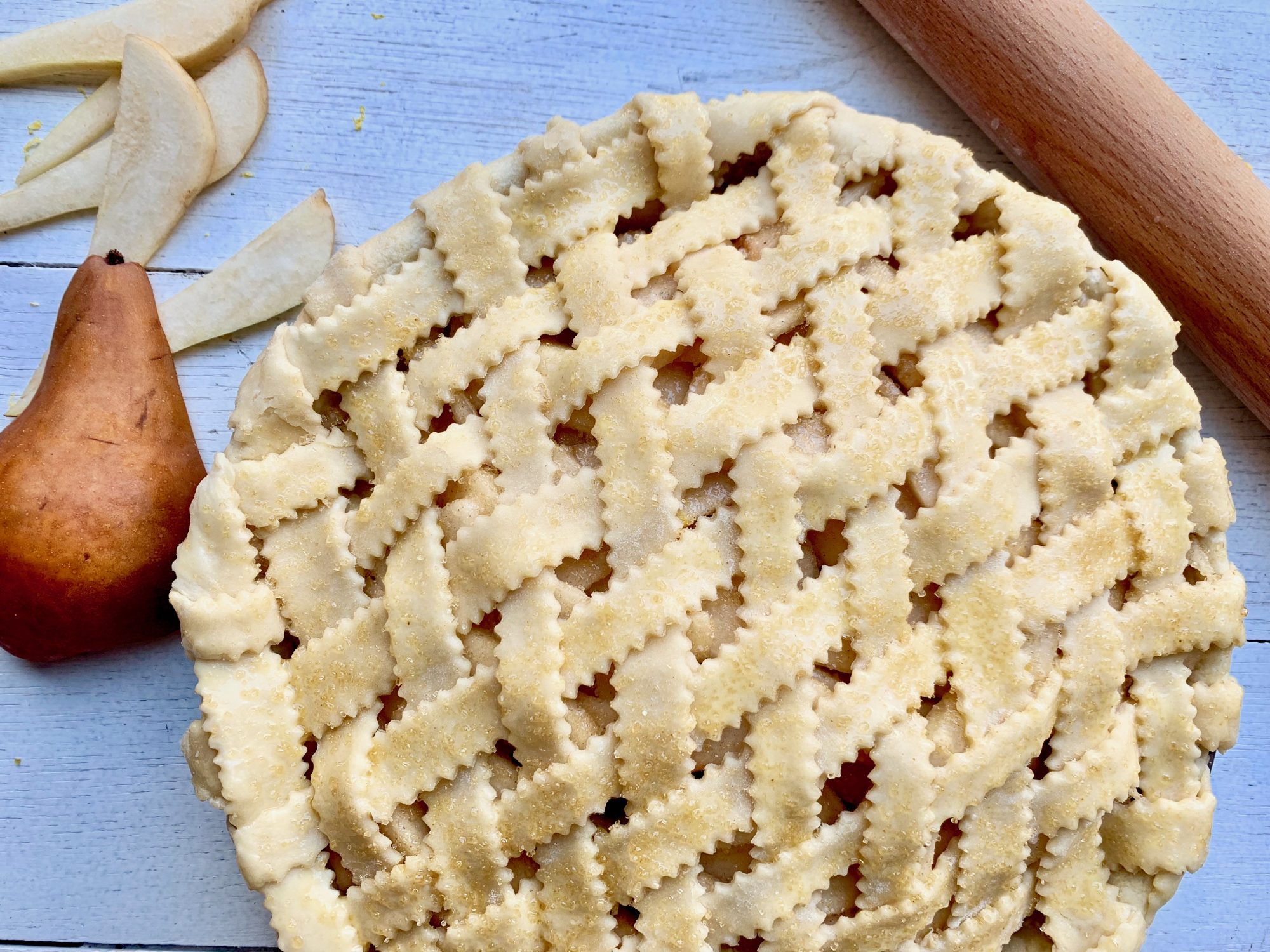 Double-Crust Pie Pastry Recipe