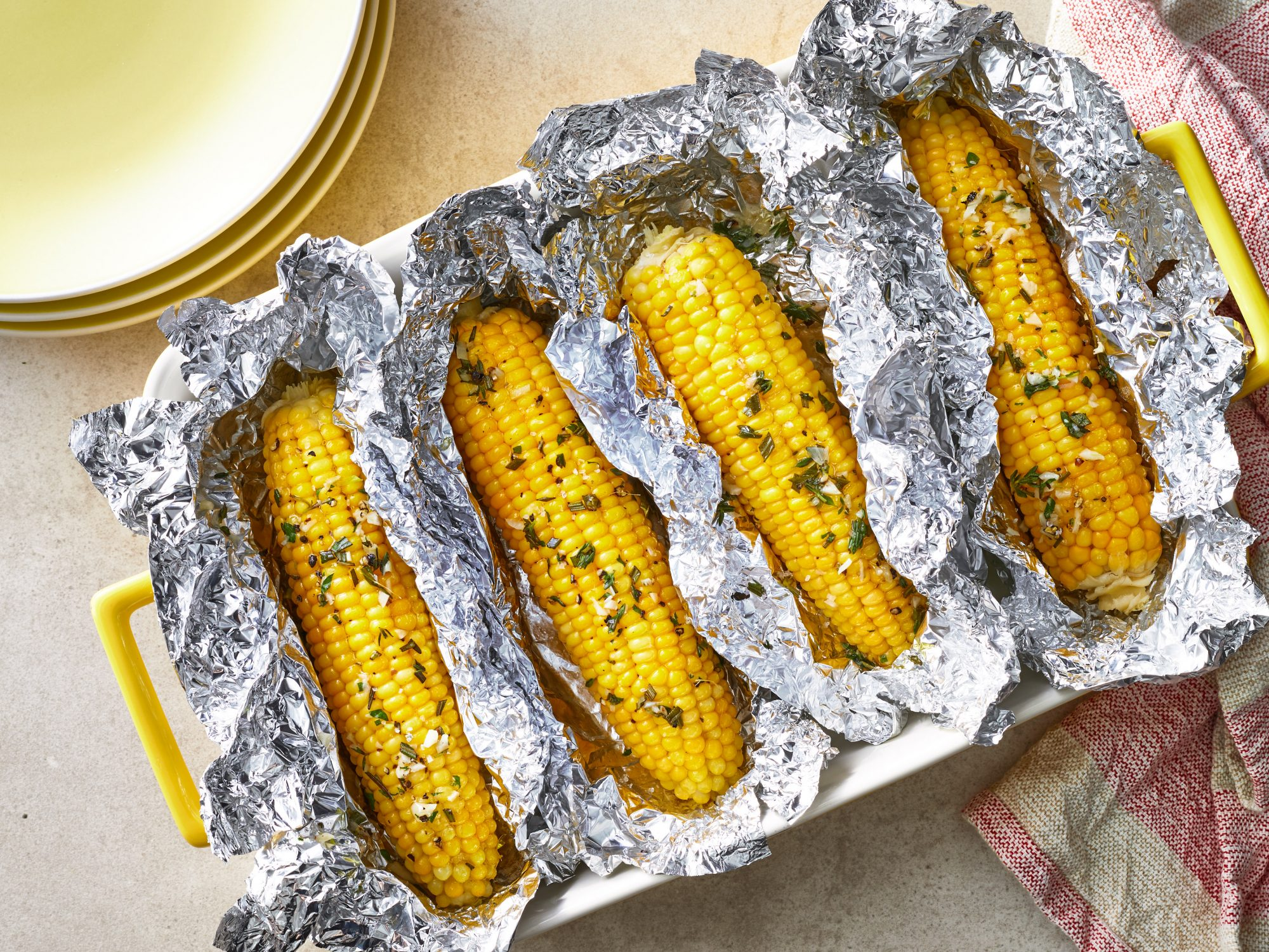 Oven-Roasted Corn on the Cob Southern Living