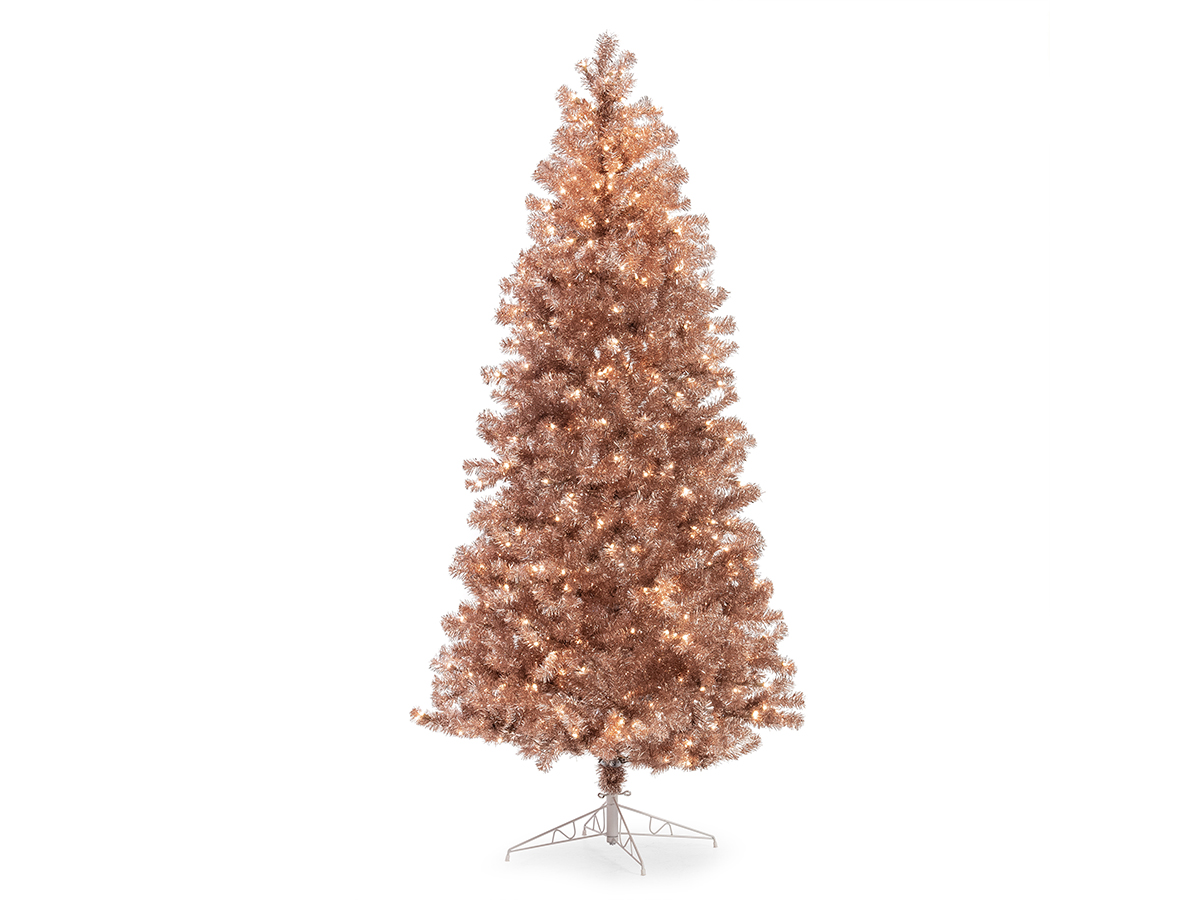 Belham Living Prelit Conical Christmas Tree