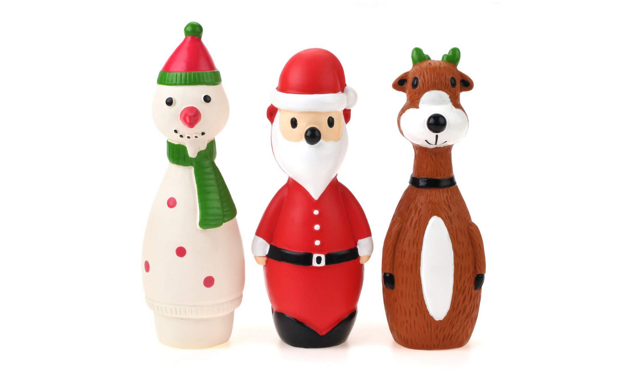 Rubber Christmas Toy Set
