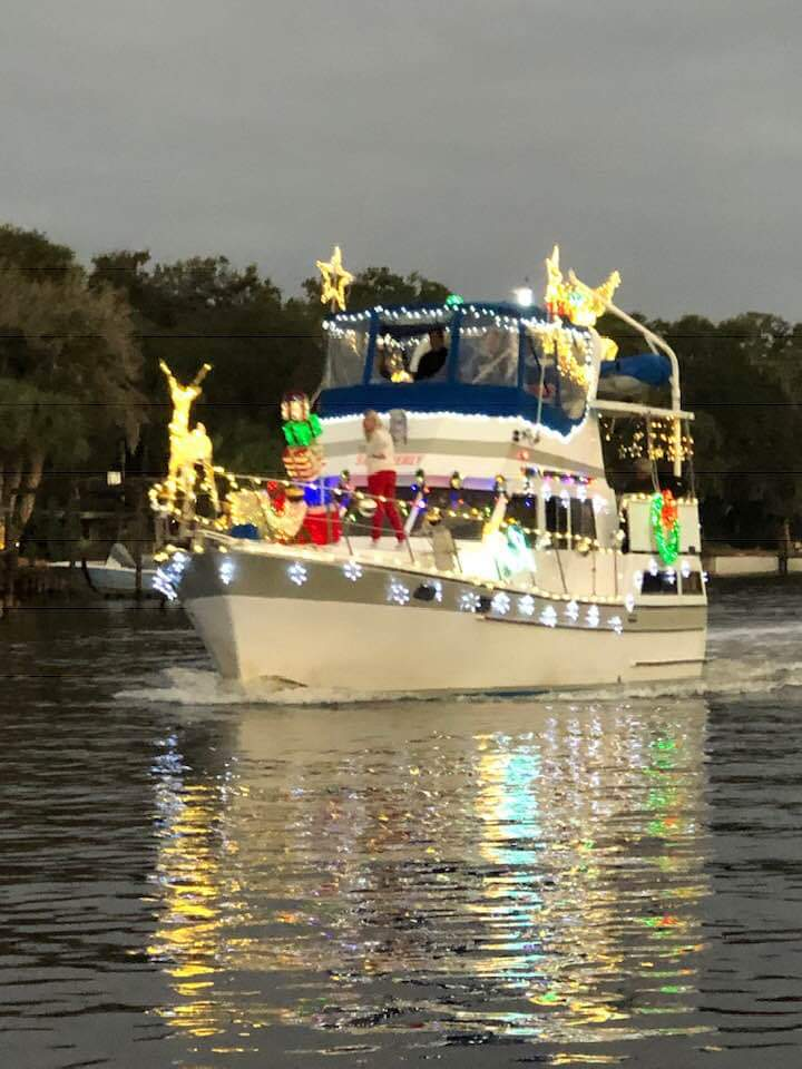 Central Florida's Palm Coast Holiday Boat Parade
