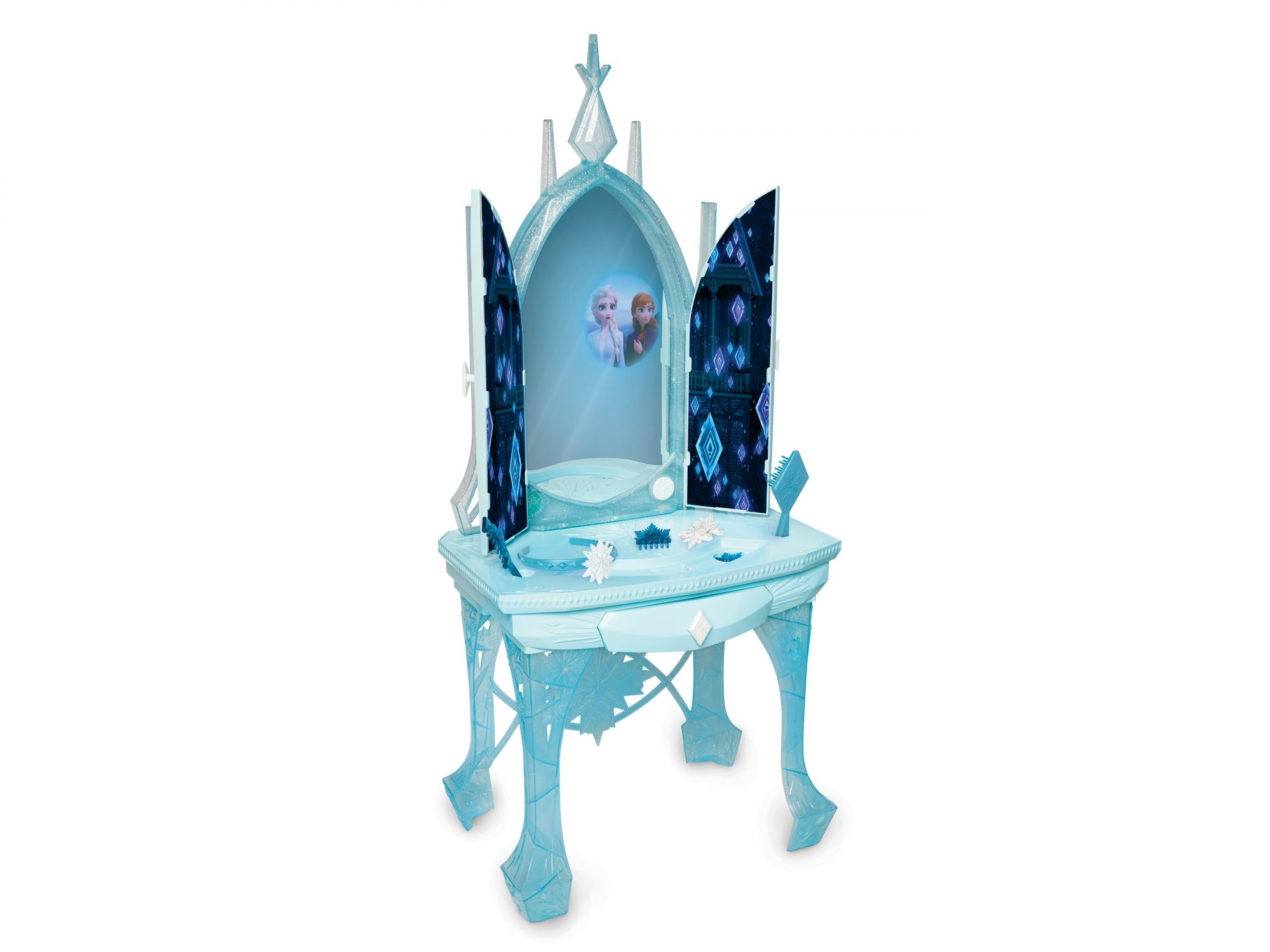 Disney Frozen 2 Elsa's Enchanted Ice Interactive Feature Vanity