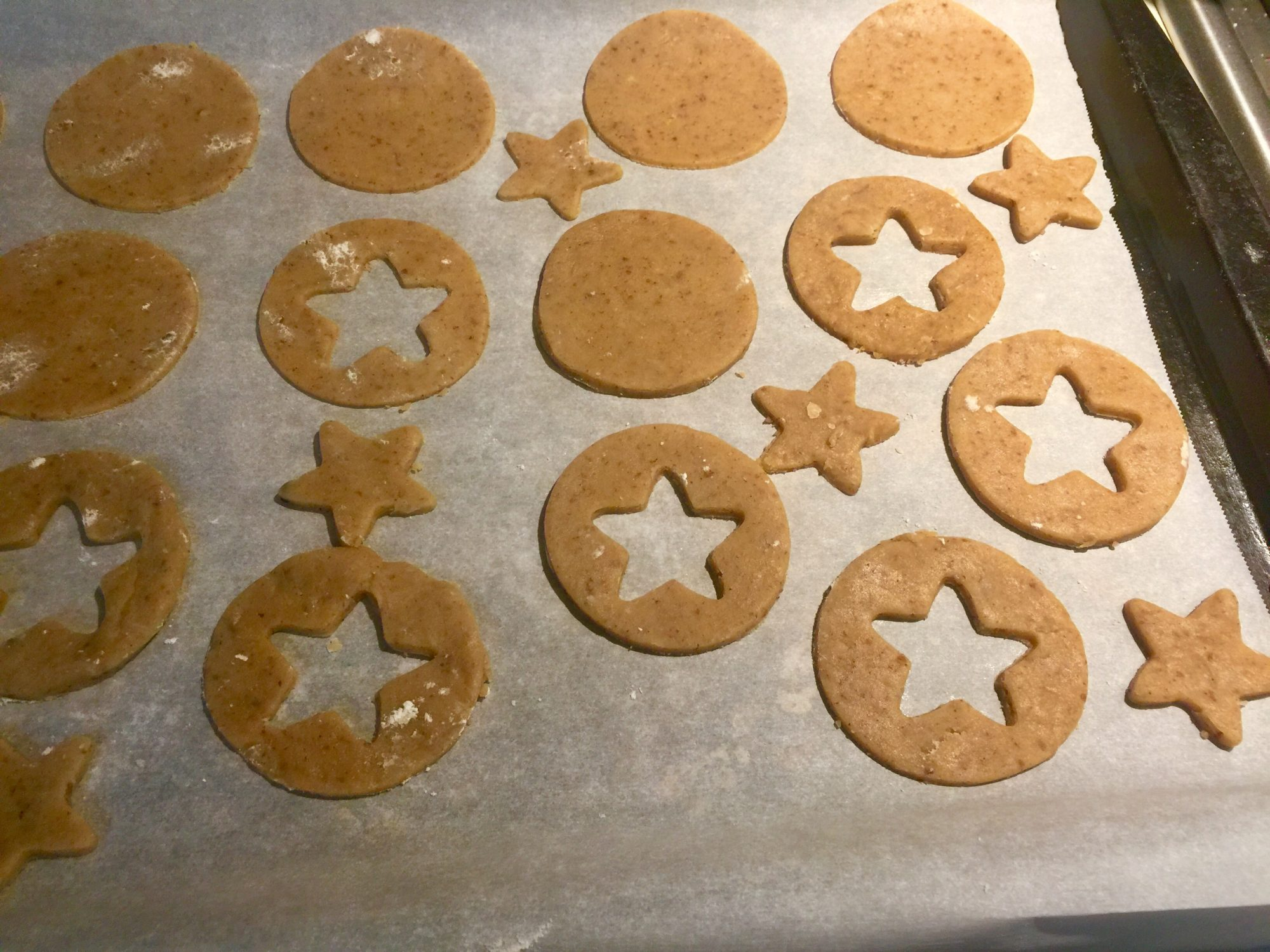 Nellah's Linzer Cookie Cutouts