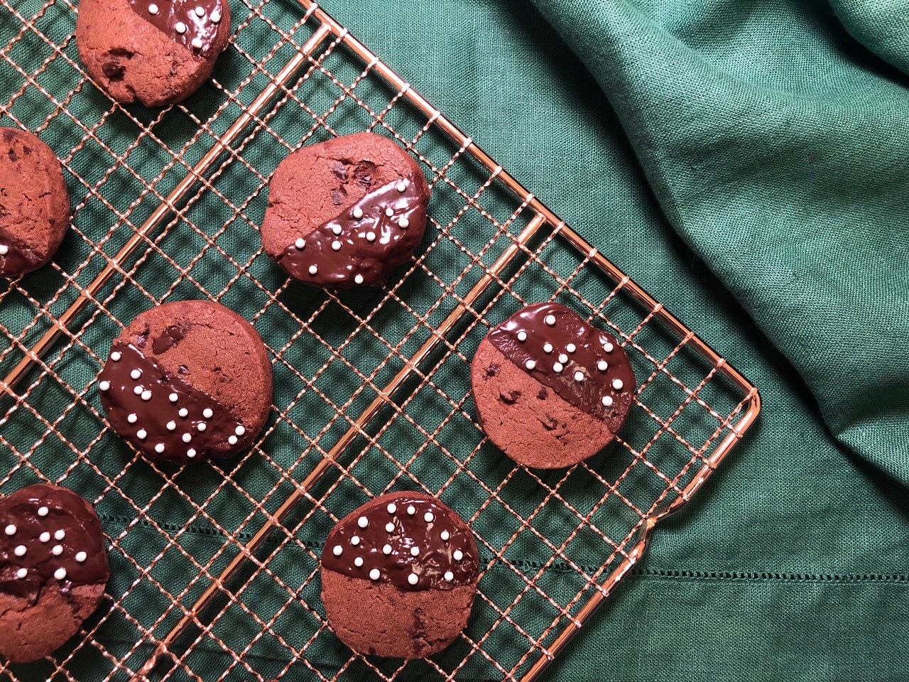 Dark Chocolate Sables