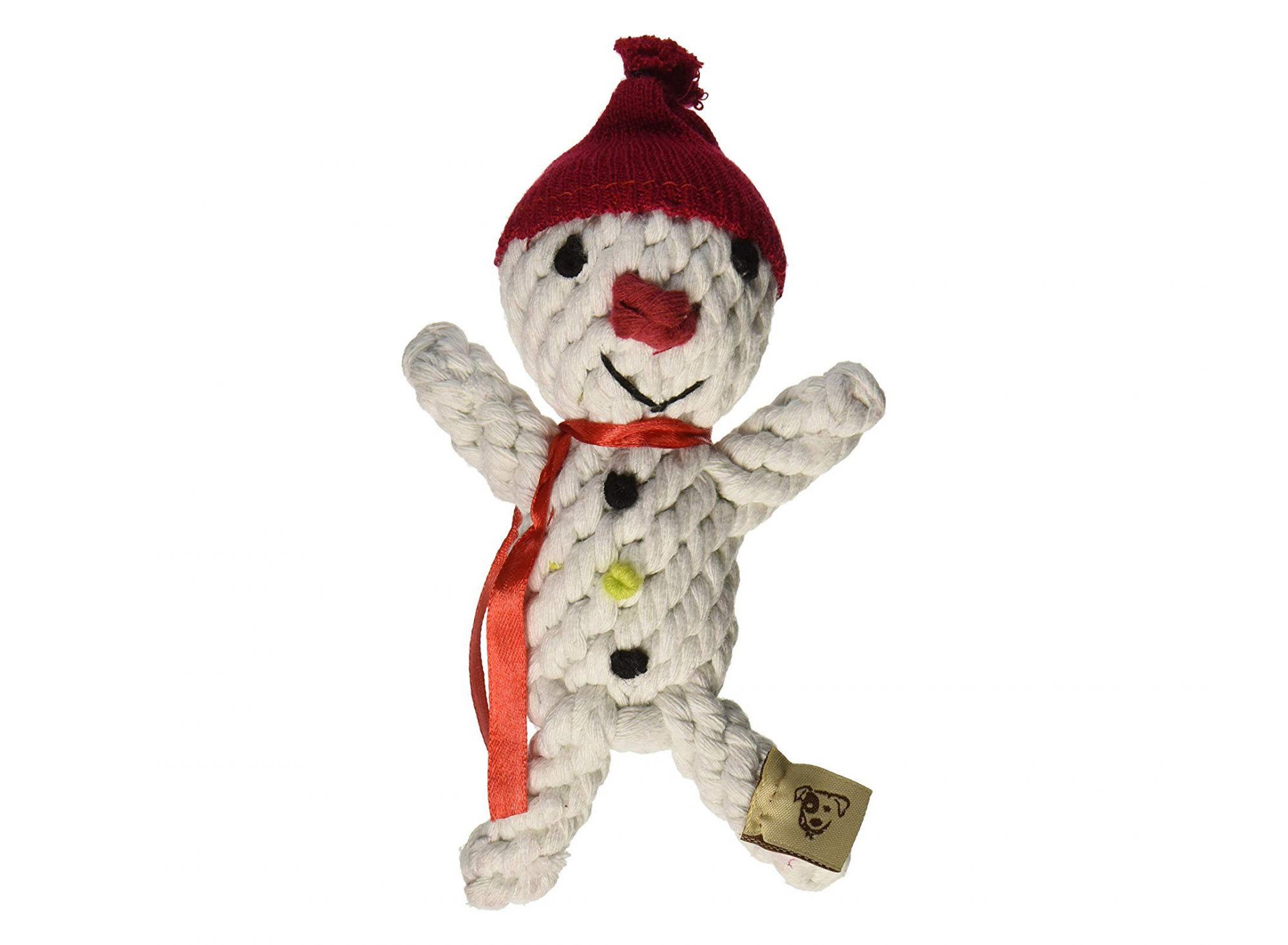 Snowman Rope Toy