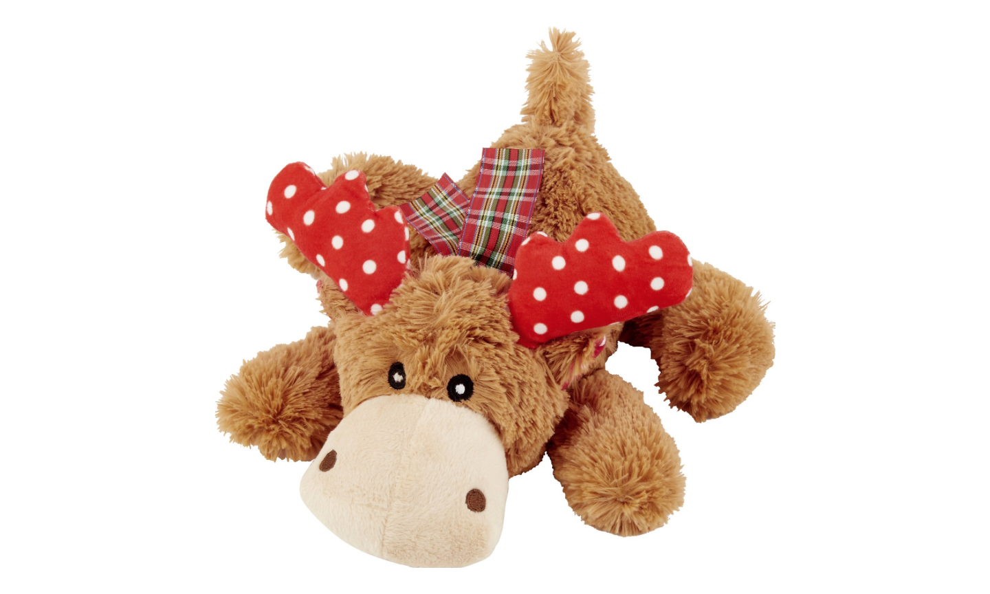 Soft Reindeer Christmas Dog Toy