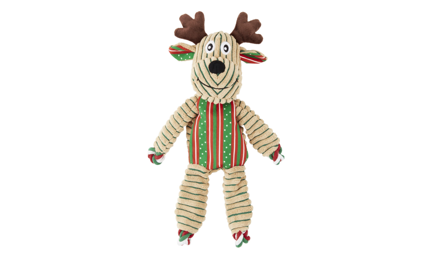 Floppy Knots Reindeer Dog Toy
