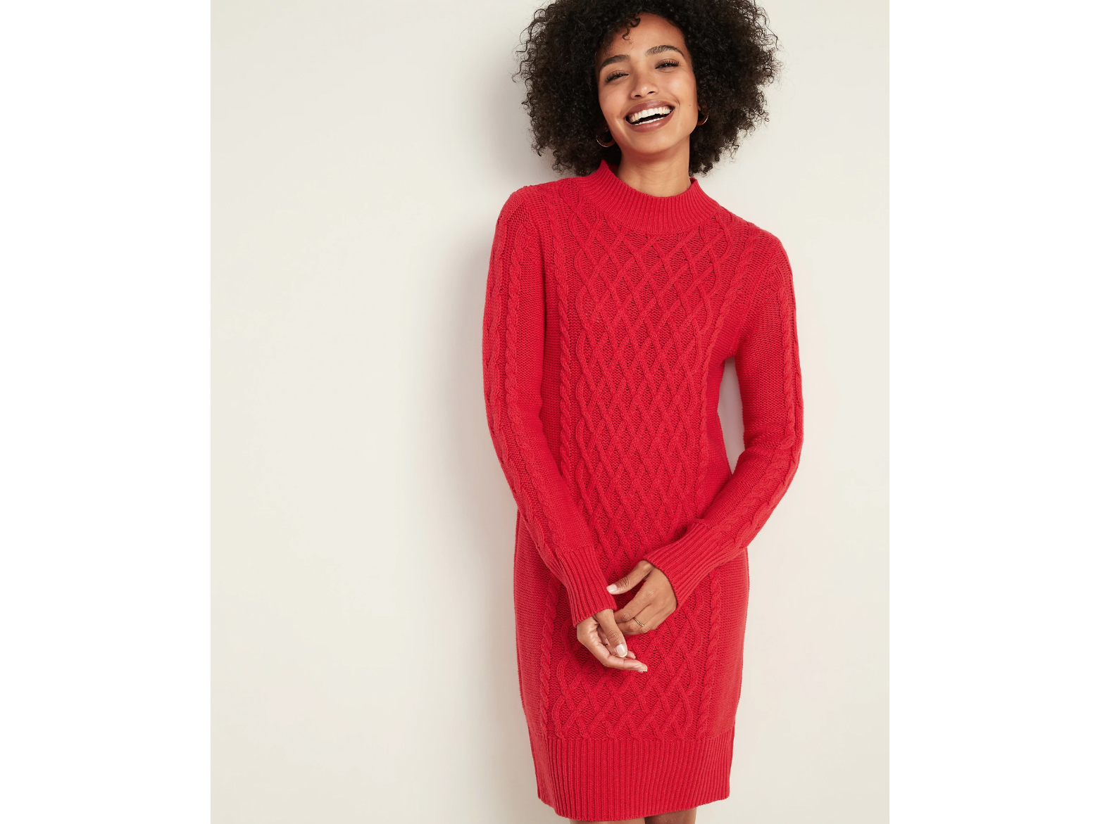 Old Navy Cable-Knit Sweater Dress