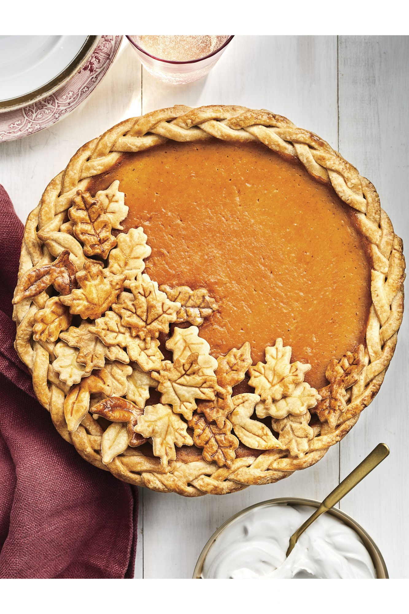 November: Dairy-Free Coconut-Pumpkin Pie Recipe