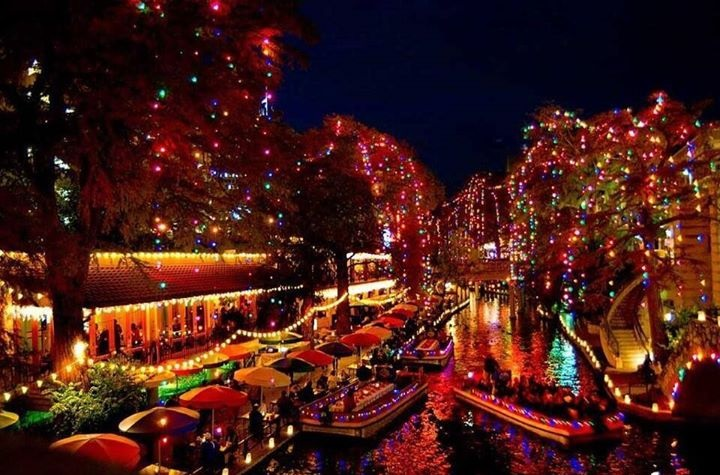 San Antonio Holiday Lights on The River Walk