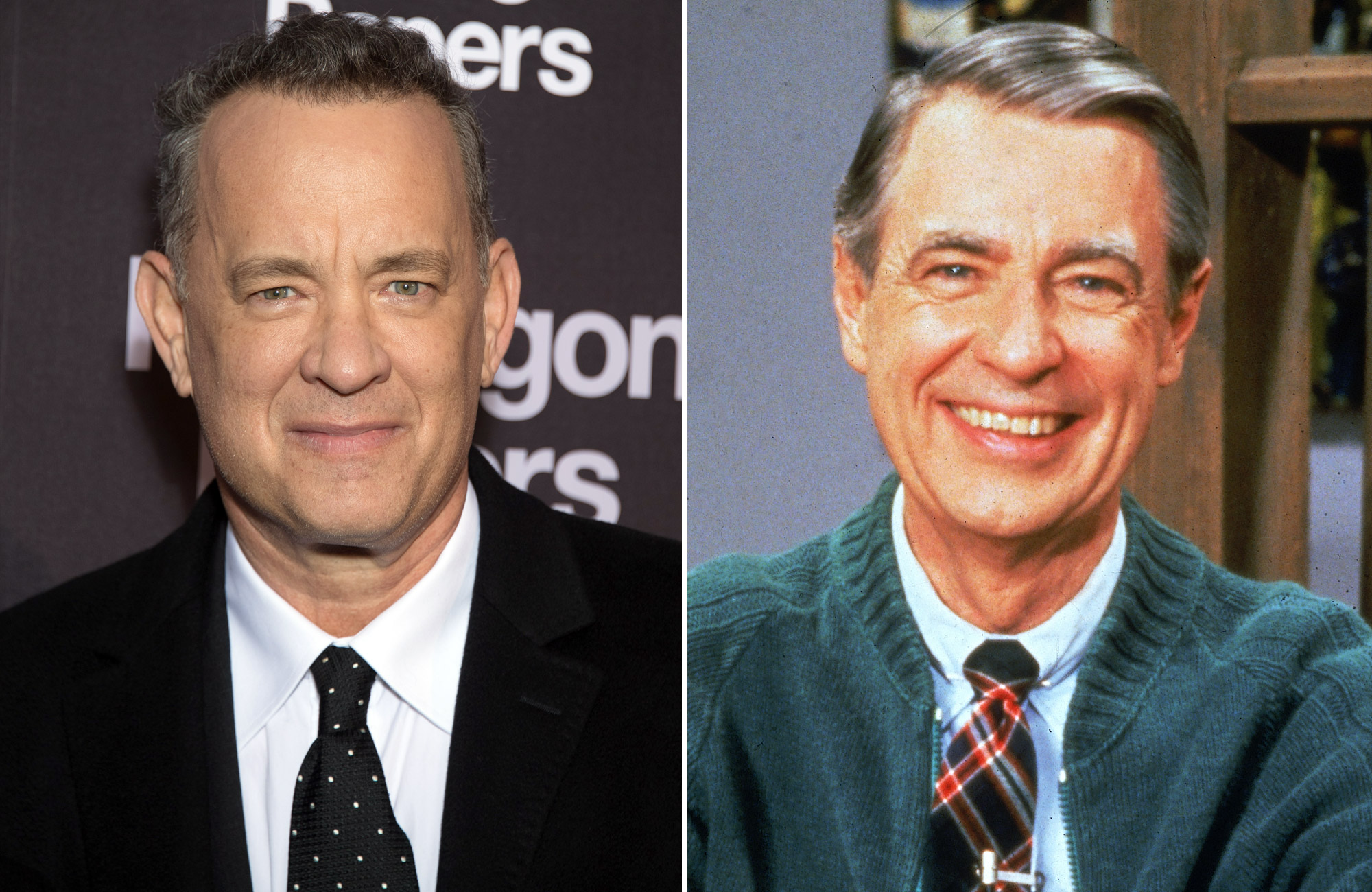 Tom Hanks Learns He's a Distant Relative of Fred Rogers: 'It All Just Comes Together' tom-hanks7