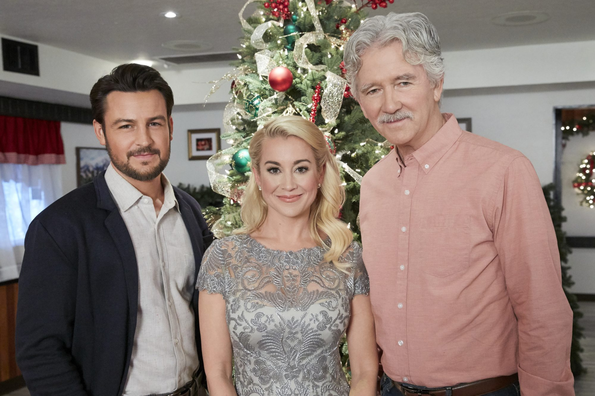 Tyler Hynes, Kellie Pickler, and Patrick Duffy