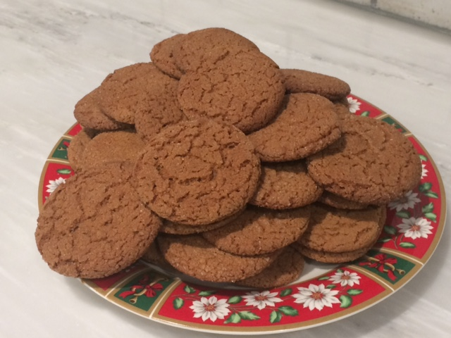 King-Size Gingersnap Cookies Patricia S York