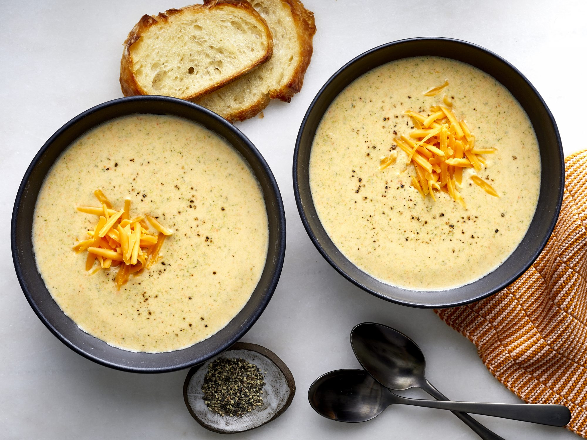Broccoli-Cheddar Soup Julia Levy