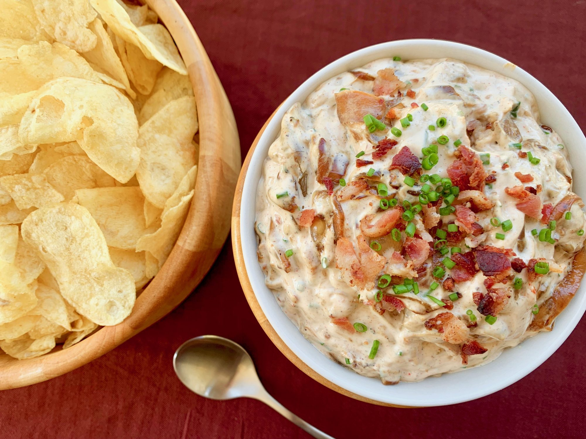 Sweet Onion and Bacon Dip
