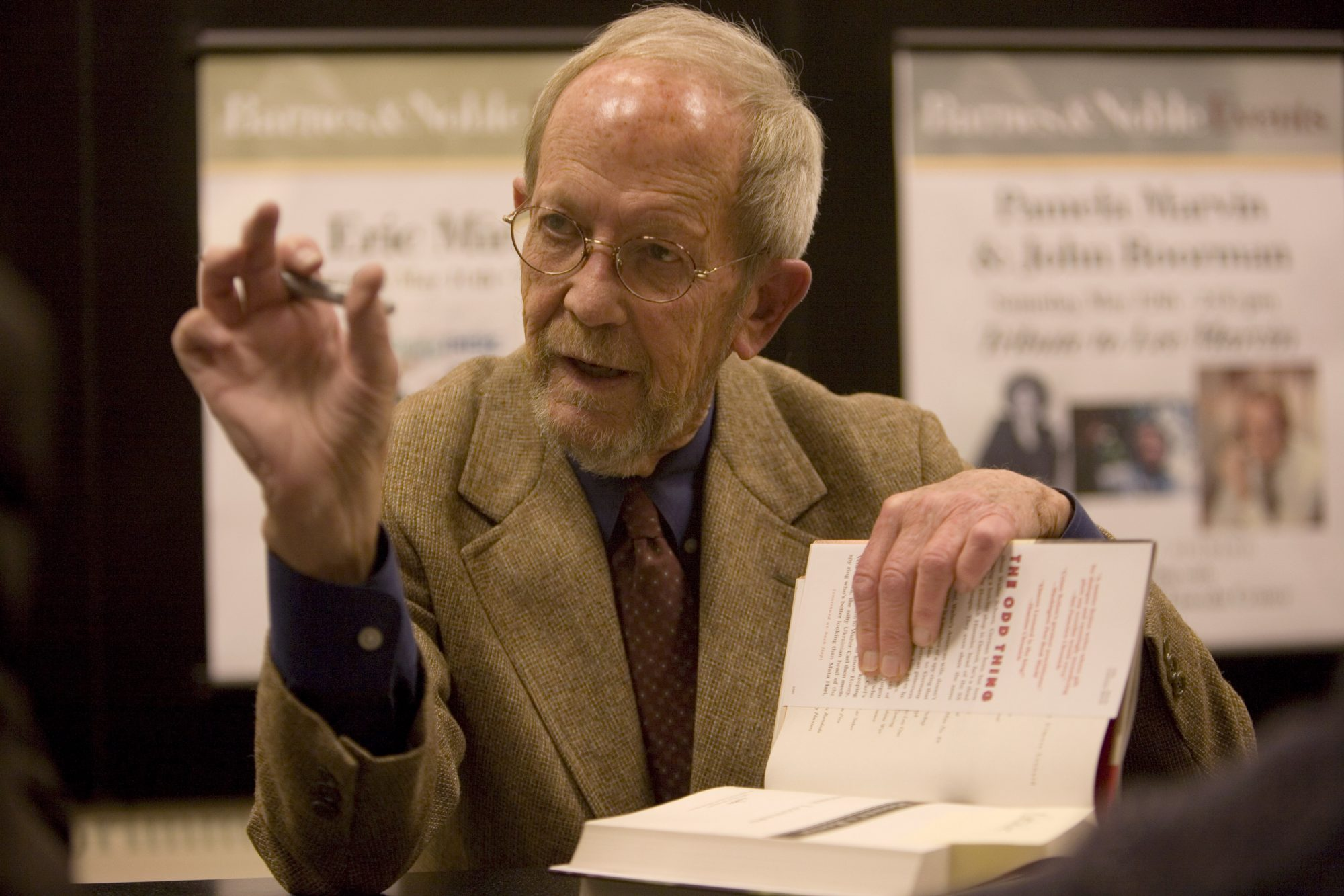 Author Elmore Leonard Book Launch And Signing