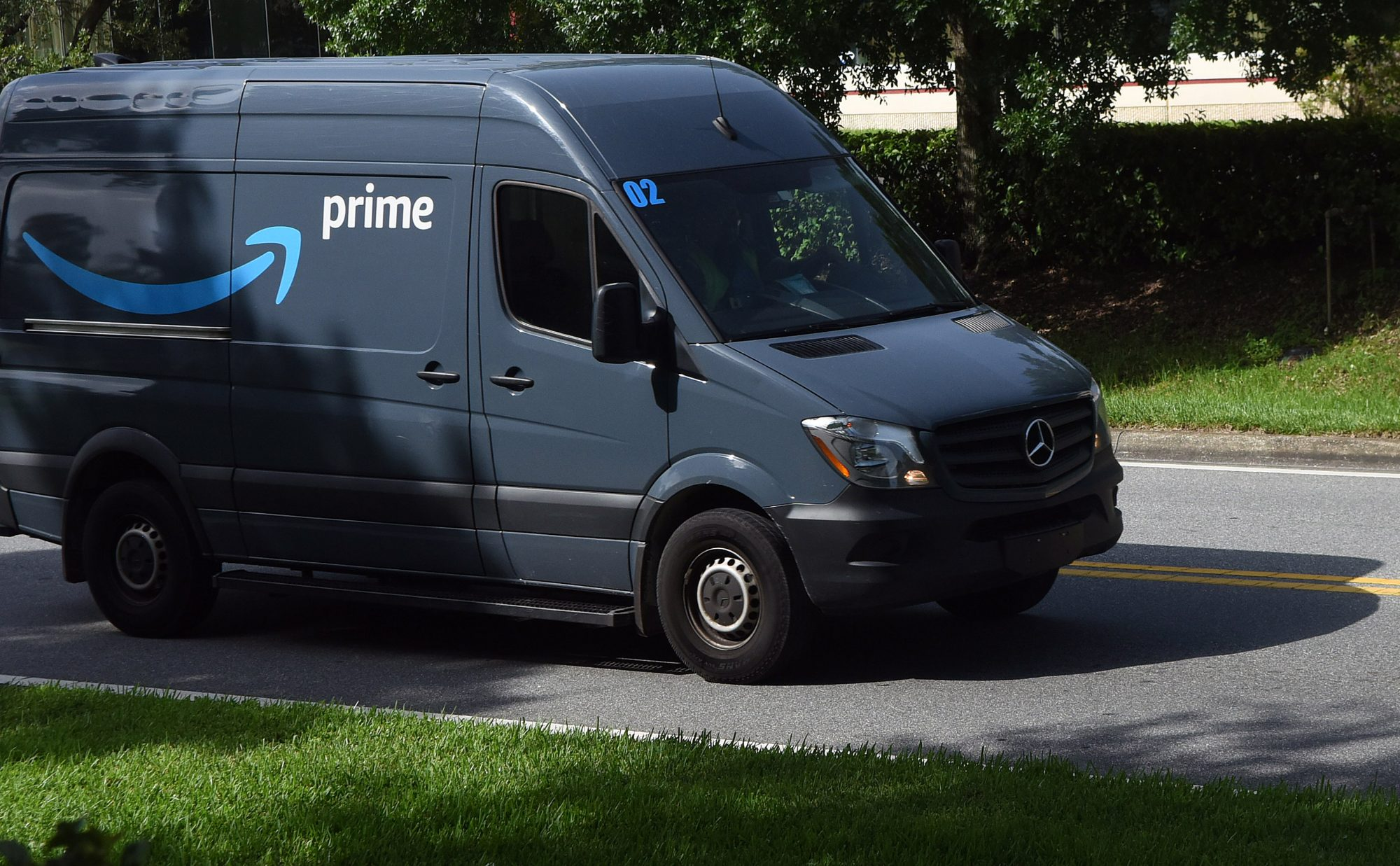 Amazon Prime Day Van