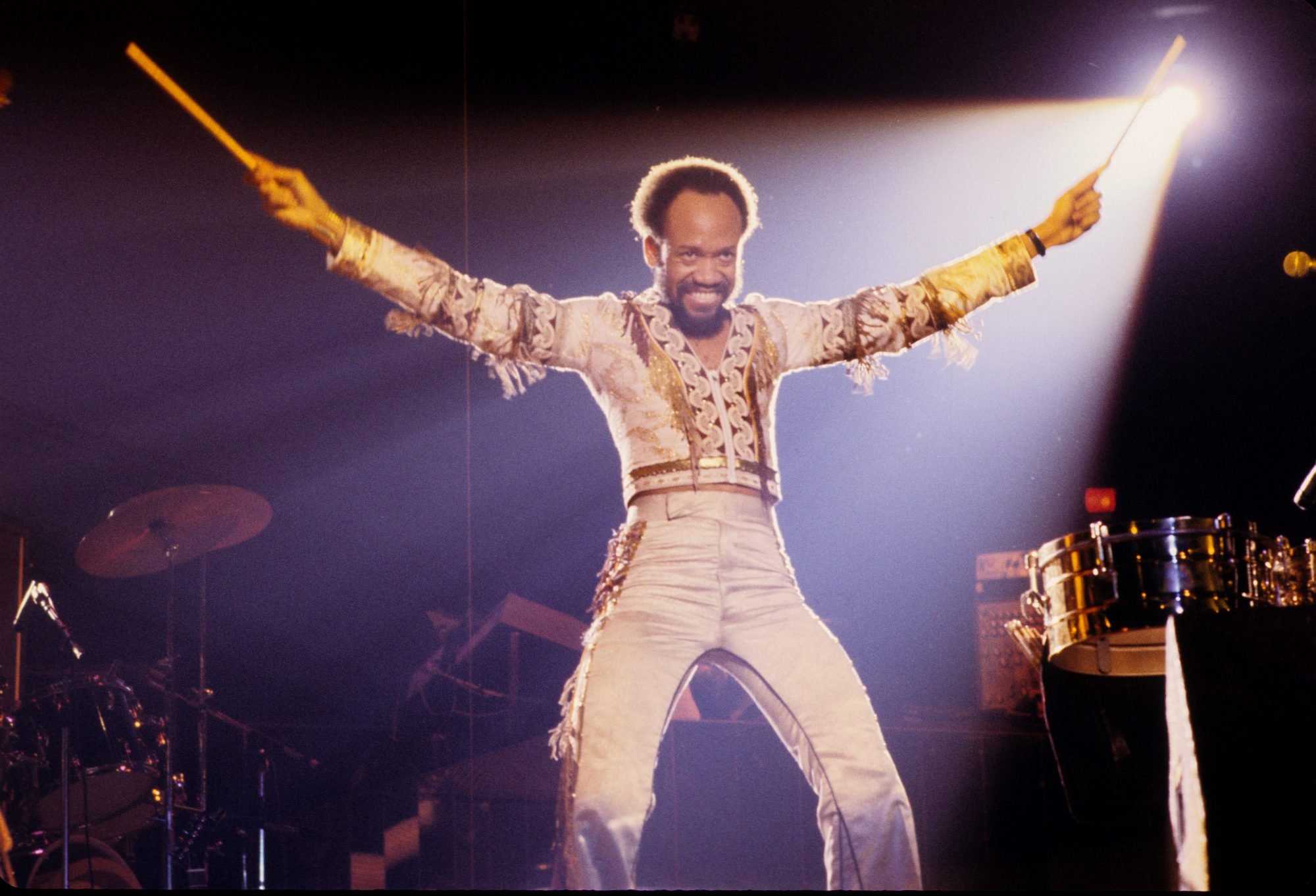 Maurice White from Earth Wind And Fire