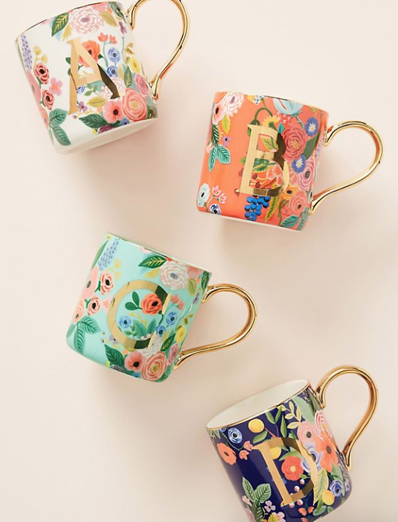 BUY IT: anthropologie.com, $14.00Add a personal touch to your hostess gift with these adorable monogrammed mugs. The floral pattern never goes out of style, and if you really want to go above and beyond, you can package this mug up with a bag of coffee beans.