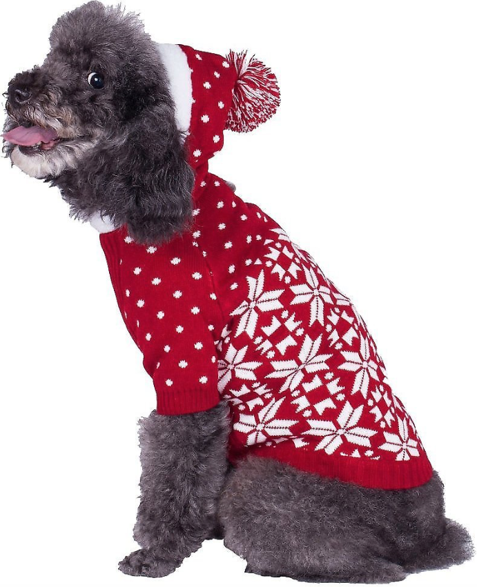 Snowflake Dog Sweater
