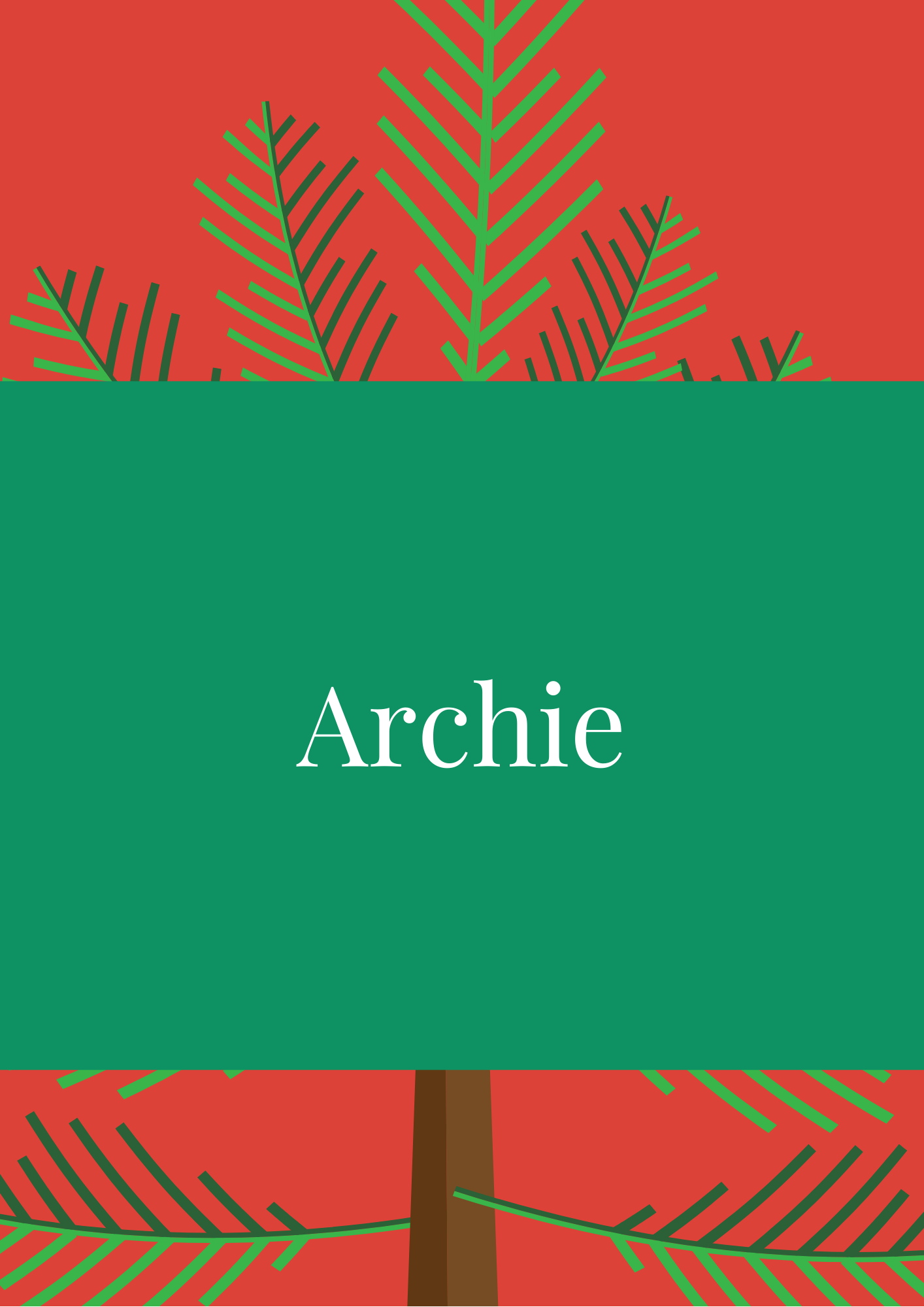 Archie Elf Names
