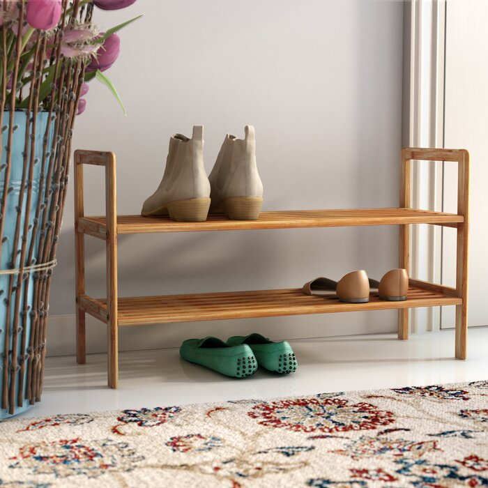 With a natural and effortless design, this 8-pair shoe rack should be placed front-and-center in your entryway.BUY IT: $27.99; wayfair.com