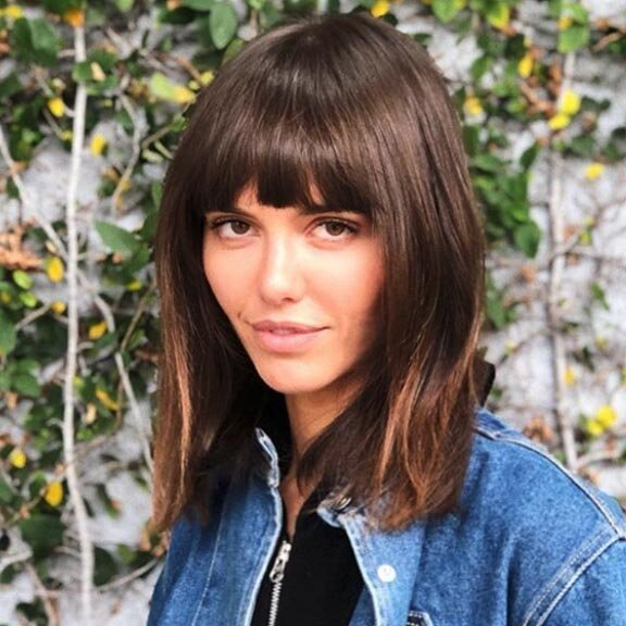 How To Choose The Right Bangs To Try According To Your Personality And Face Shape Southern Living