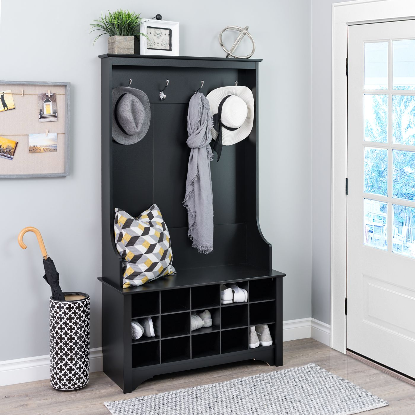 Who said mudrooms can't be stylish? With this sophisticated storage-saver, you can fit all your possessions in one place, from shoes all the way to coats.BUY IT: $155.99; target.com
