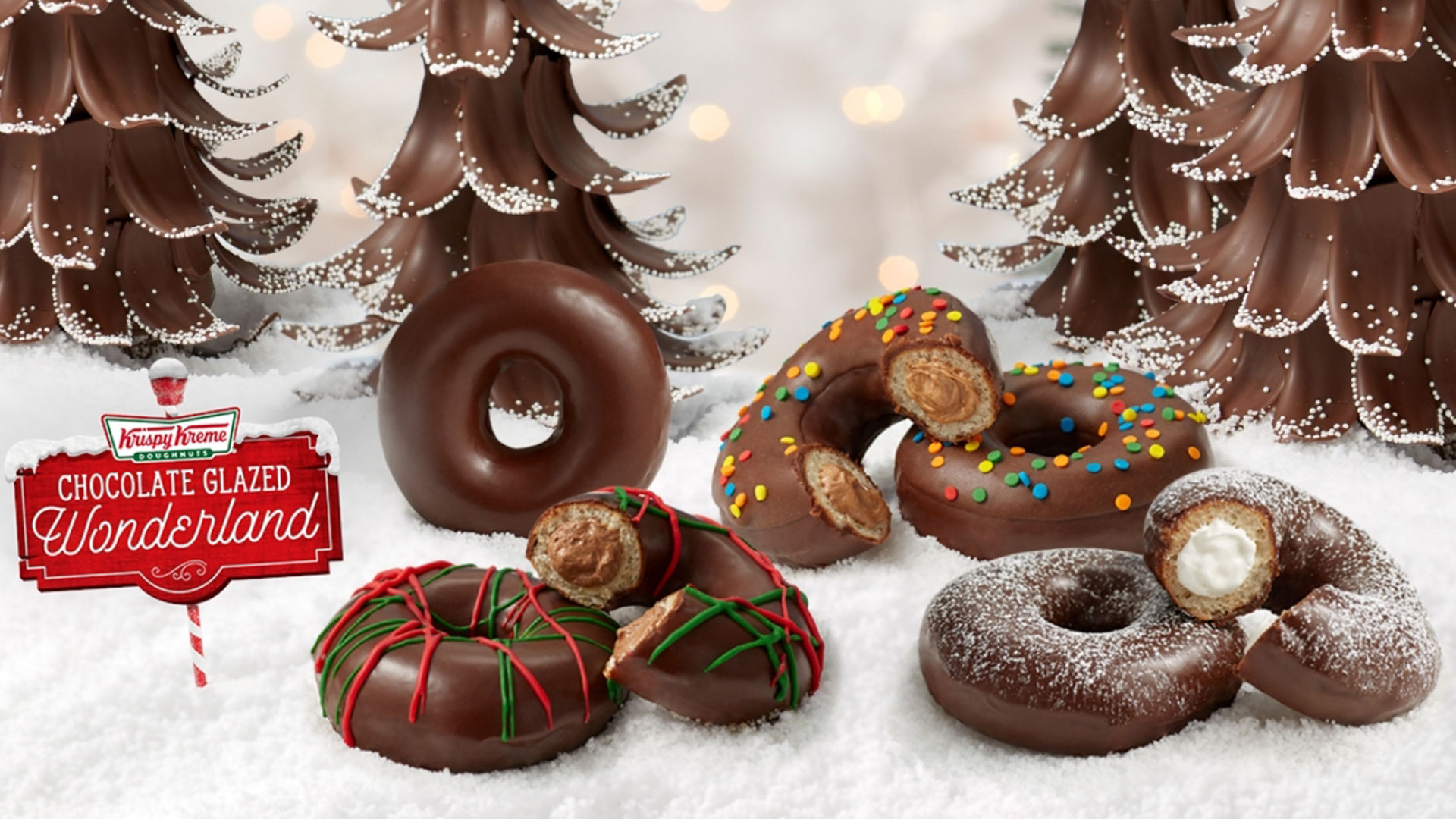 Krispy Kreme Chocolate Wonderland