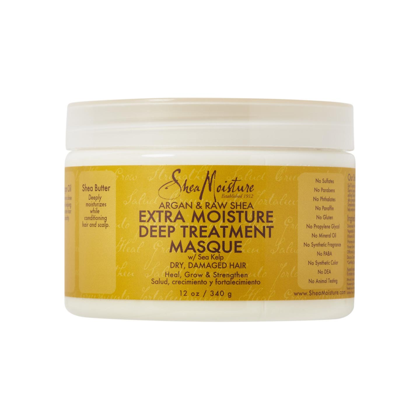 Best for Frizz: SheaMoisture Raw Shea Butter Deep Treatment Masque