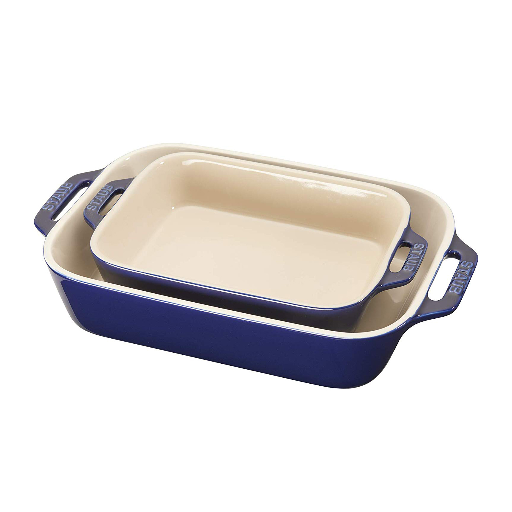 Staub 40508-628 Ceramics Rectangular Baking Dish Set