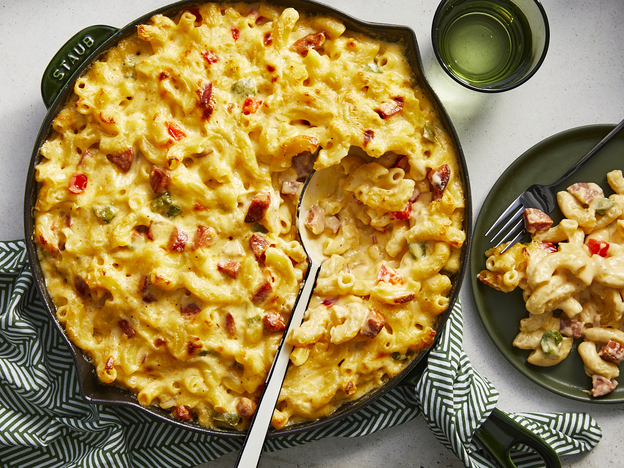 Cajun Macaroni and Cheese