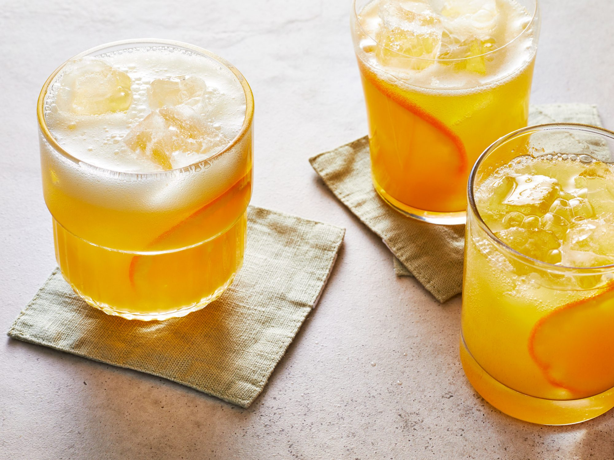 Ginger-Orange Mocktails Ivy Odom
