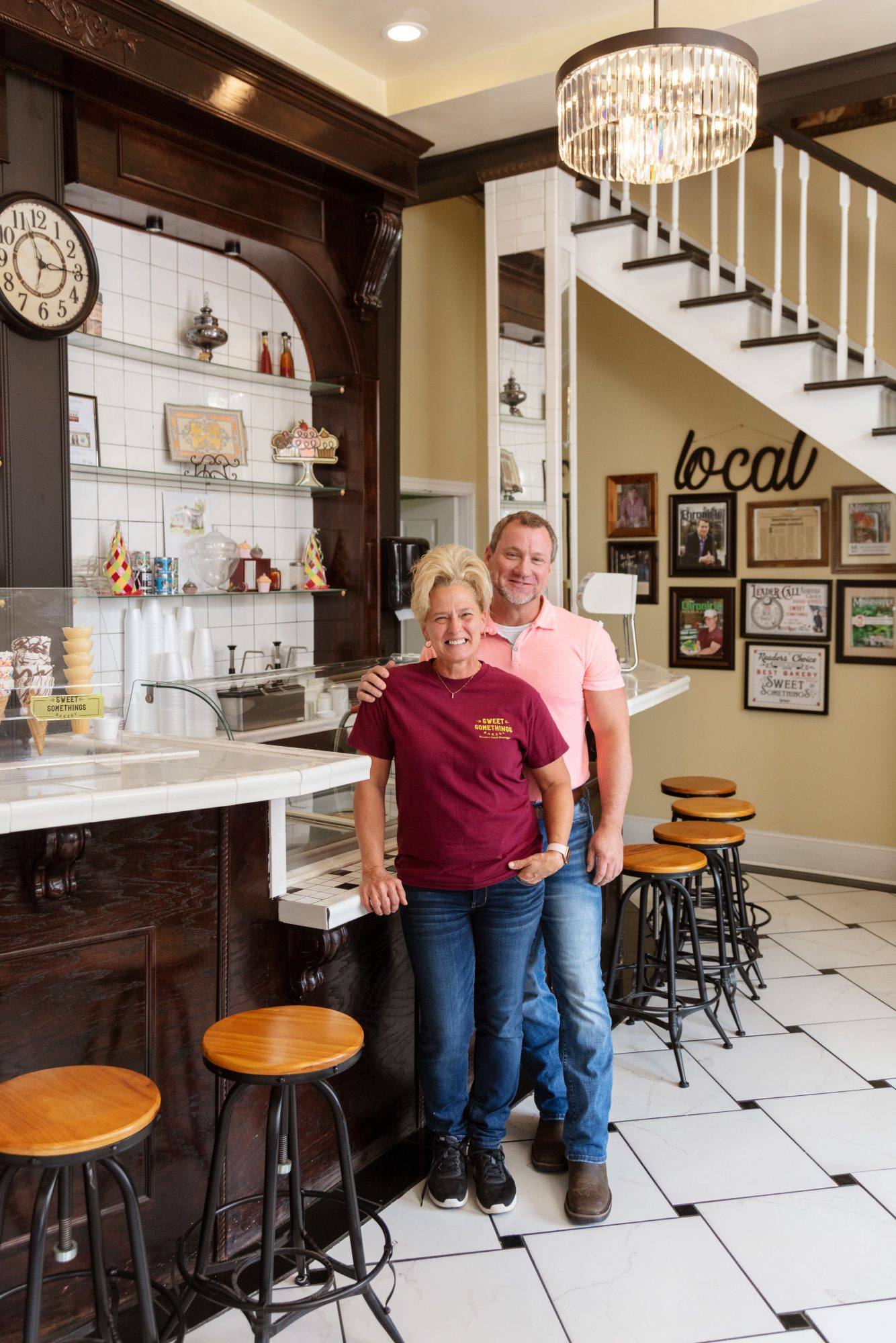 Jamie Suggs & Joseph Watkins of Sweet Somethings Bakery in Laurel, MS