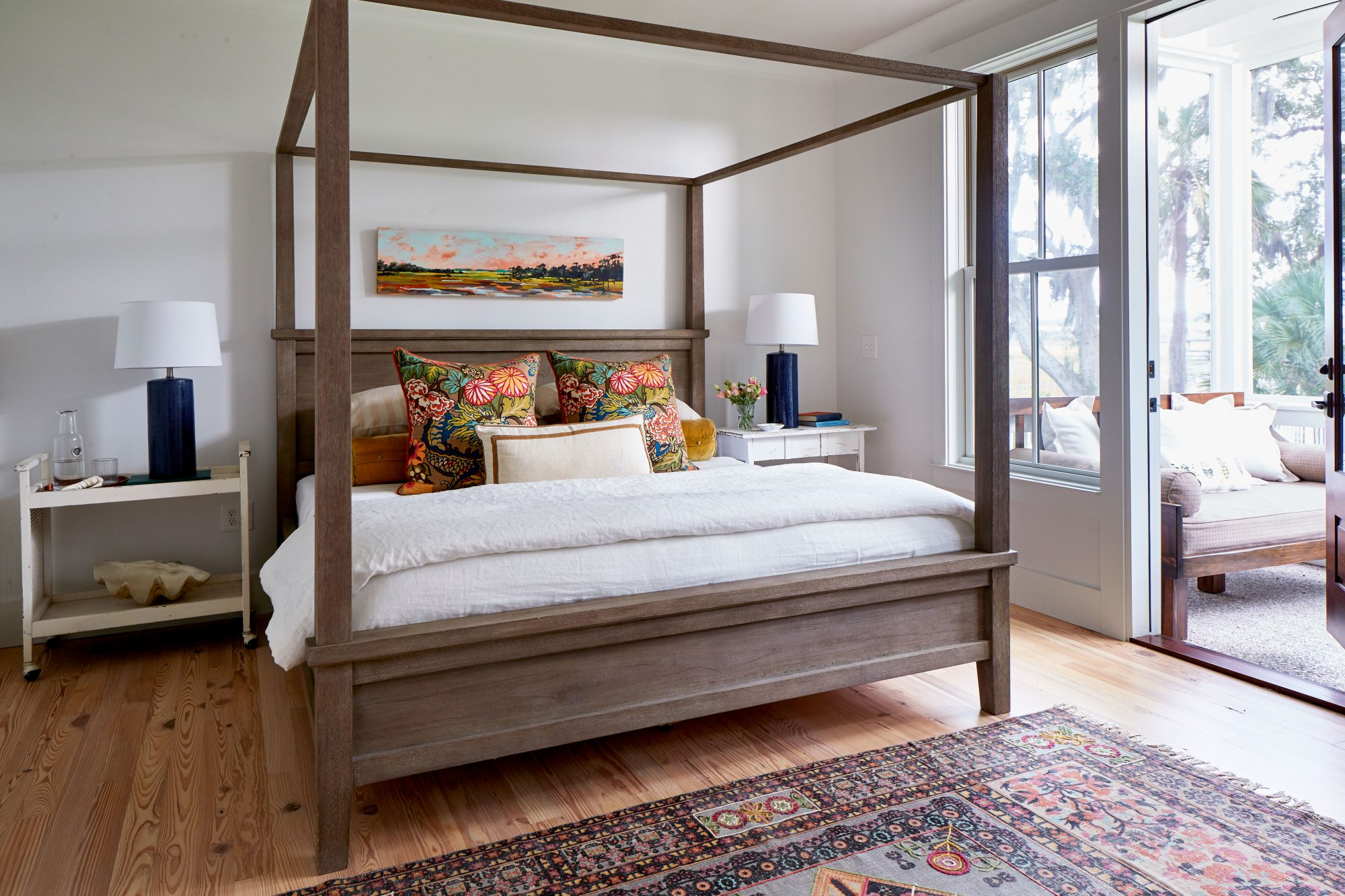 Watson Family Farmhouse Master Bedroom in Savannah, GA
