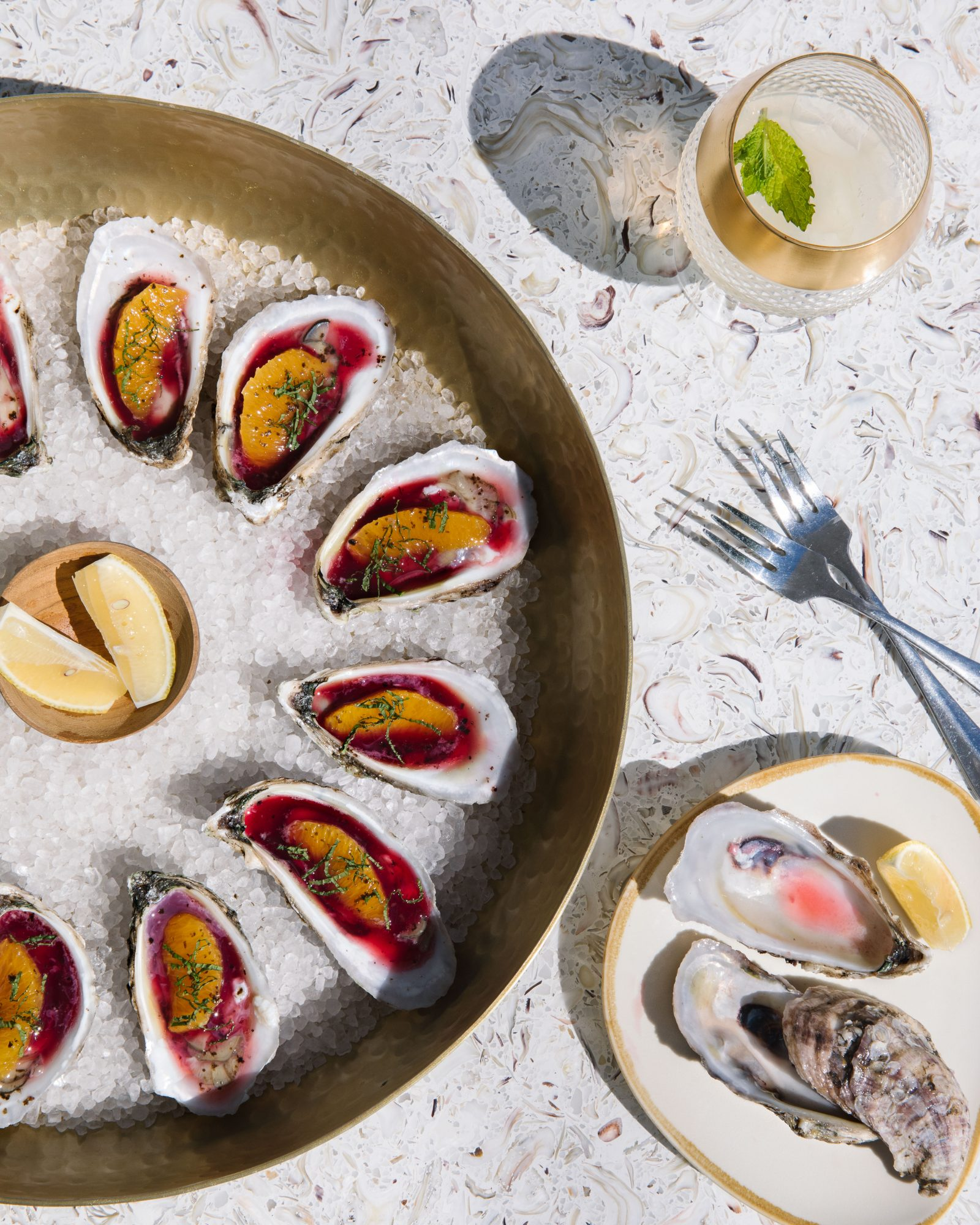 Bivalves Served at The Franklin in Apalachicola, FL